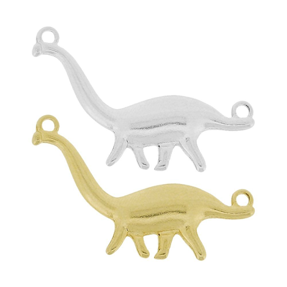 Alongador Dinossauro de Metal 2 Saídas - 22mm  - Nathalia Bijoux®