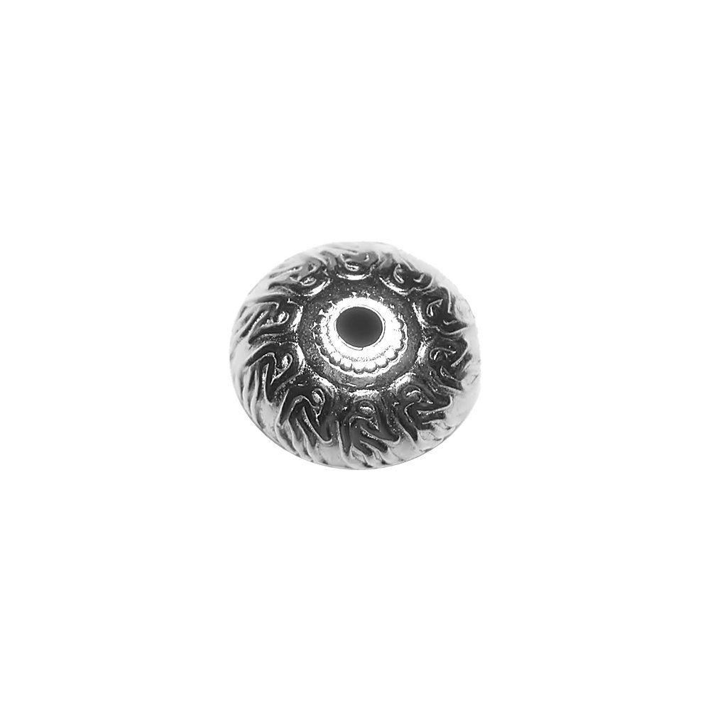 Entremeio de Metal - 18mm  - Nathalia Bijoux®