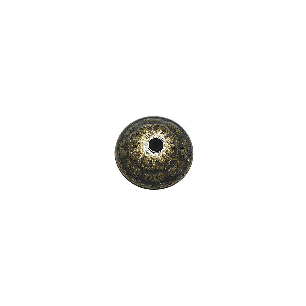 Entremeio de Metal - 12mm  - Nathalia Bijoux®