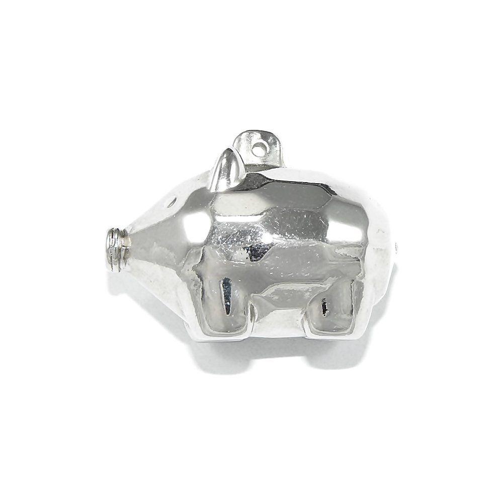Pingente Porquinho de ABS - 27mm  - Nathalia Bijoux®