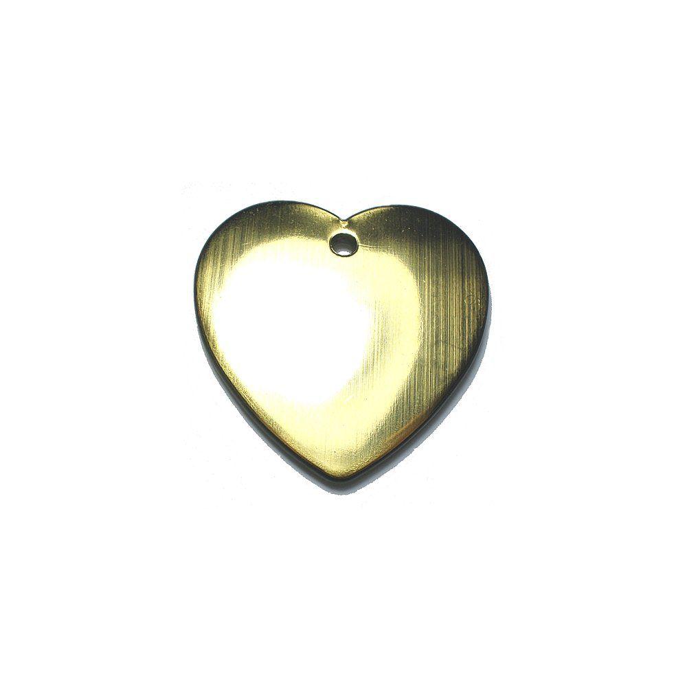 Pingente Coração de Plástico - 36mm  - Nathalia Bijoux®