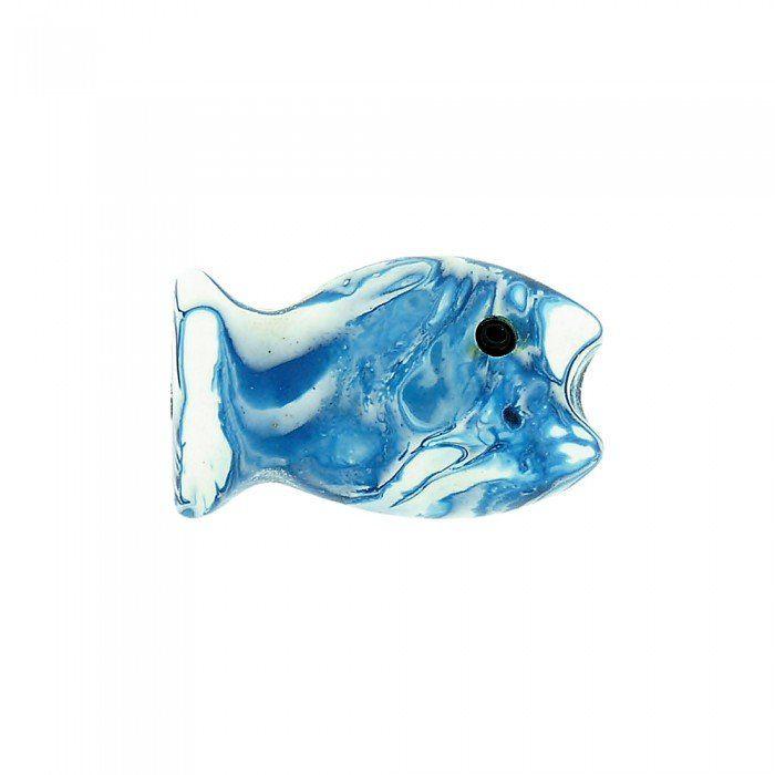 Entremeio Peixinho de Resina - 26mm  - Nathalia Bijoux®