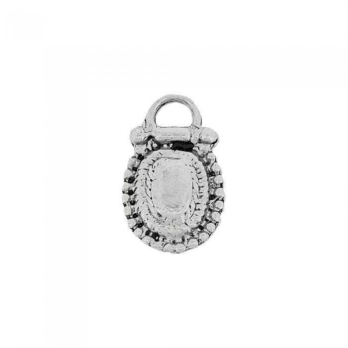 Pingente de Metal - 18mm  - Nathalia Bijoux®