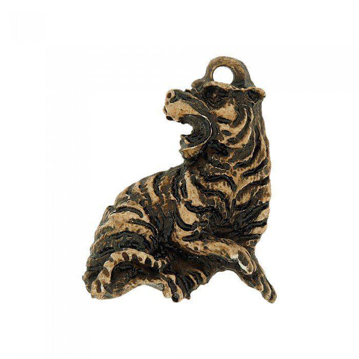 Pingente Tigre de Resina - 44mm  - Nathalia Bijoux®