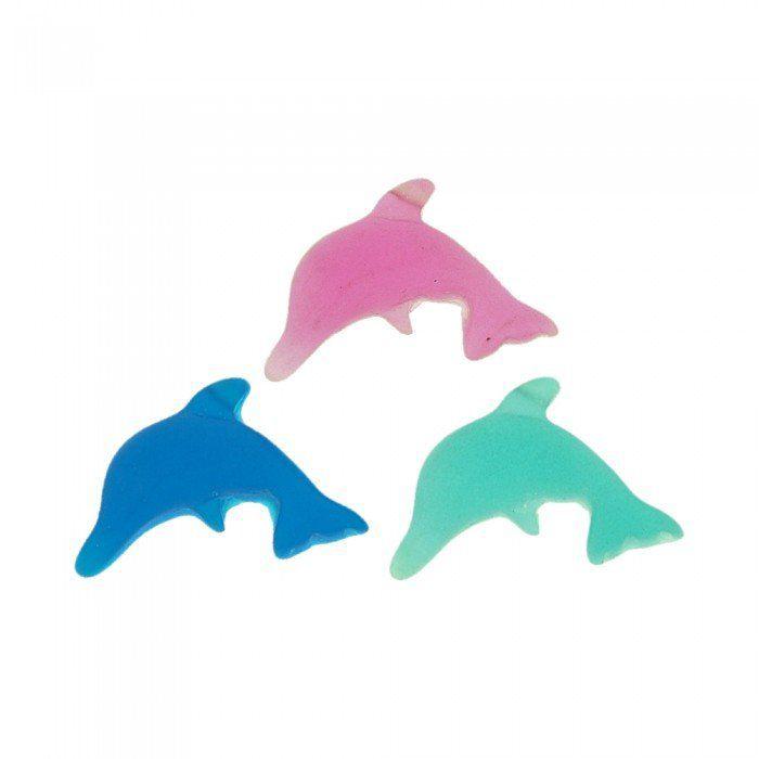 Pingente Golfinho de Resina - 25mm  - Nathalia Bijoux®