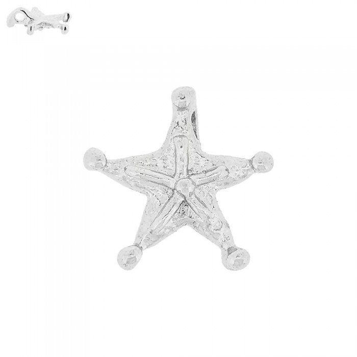 Pingente Estrela de Metal - 17.5mm  - Nathalia Bijoux®