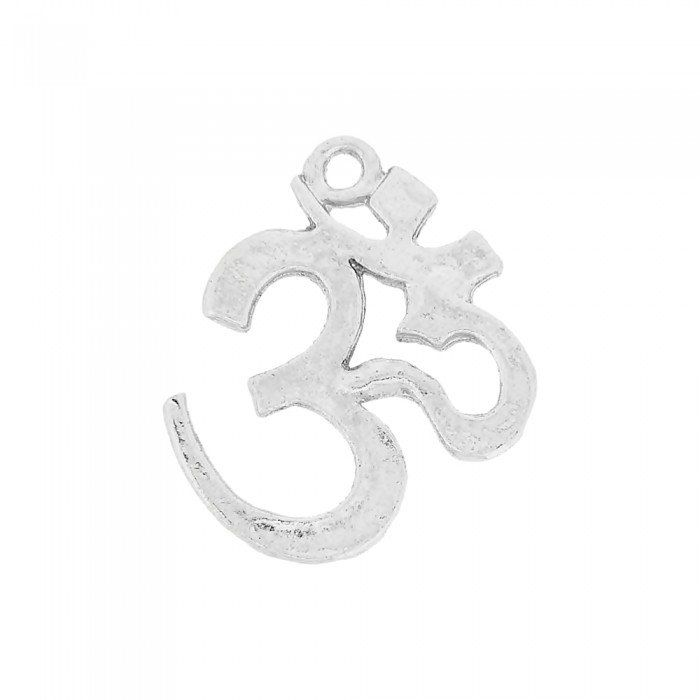 Pingente Símbolo Ohm de Metal - 25mm  - Nathalia Bijoux®