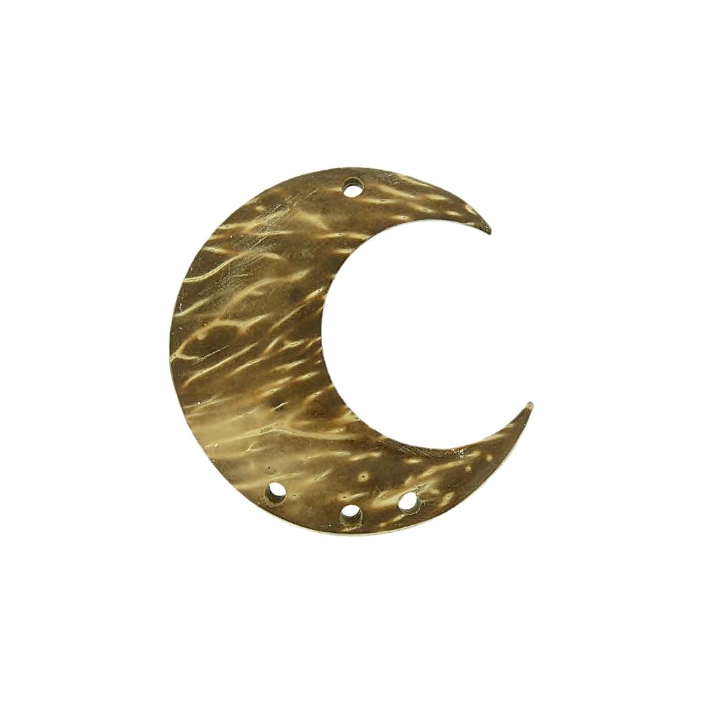 Alongador Lua de Coco 3 Saídas - 35mm  - Nathalia Bijoux®