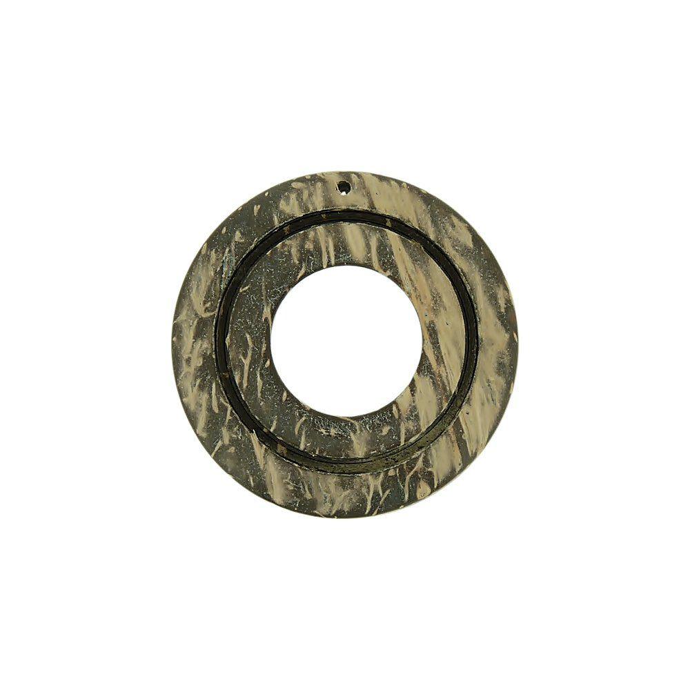 Pingente Argola de Coco - 41mm  - Nathalia Bijoux®
