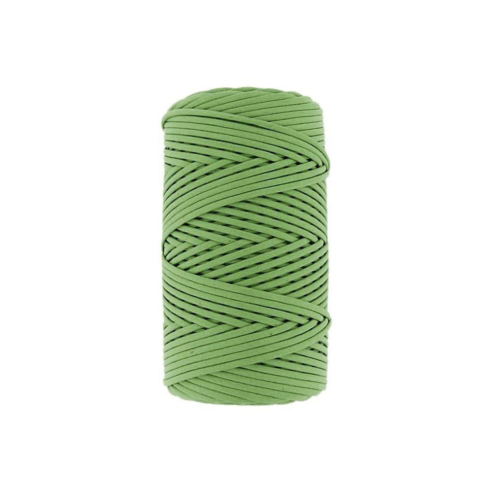 Cordão Encerado Importado - Pistache (234) - 1mm - 100m  - Nathalia Bijoux®