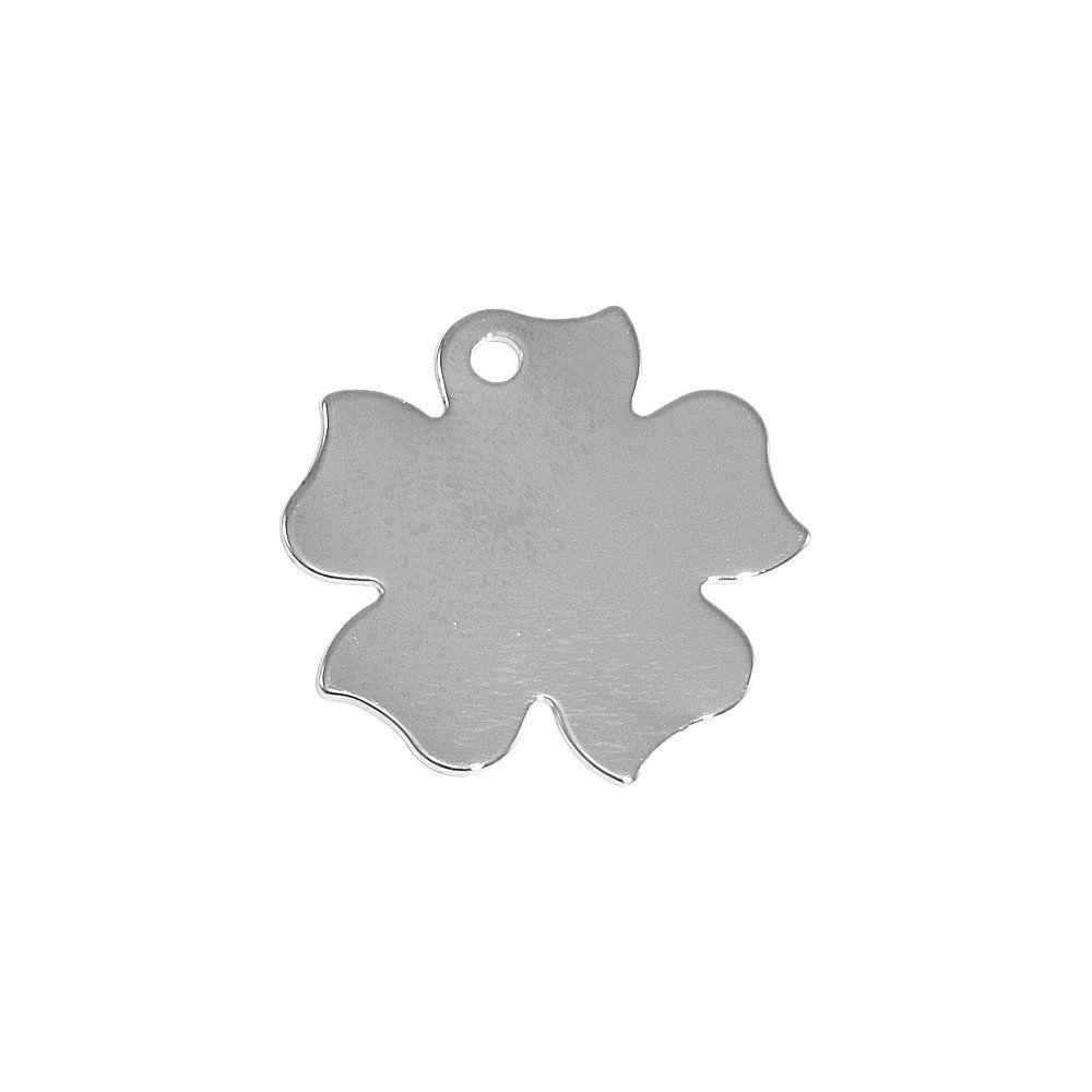 Pingente Flor de Metal - 26mm  - Nathalia Bijoux®