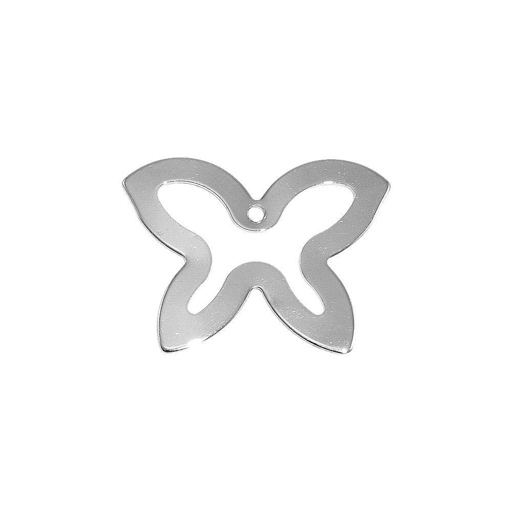 Pingente Borboleta de Metal - 35mm  - Nathalia Bijoux®