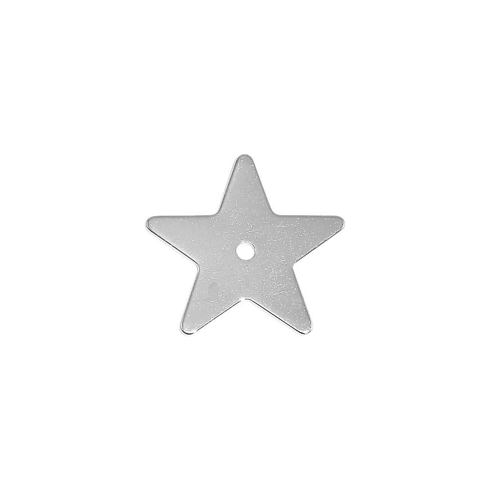 Pingente Estrela de Metal - 21mm  - Nathalia Bijoux®