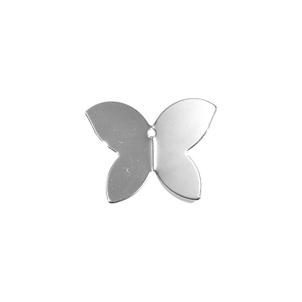 Pingente Borboleta de Metal - 25mm  - Nathalia Bijoux®