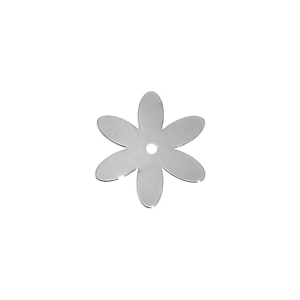 Pingente Flor de Metal - 27mm  - Nathalia Bijoux®
