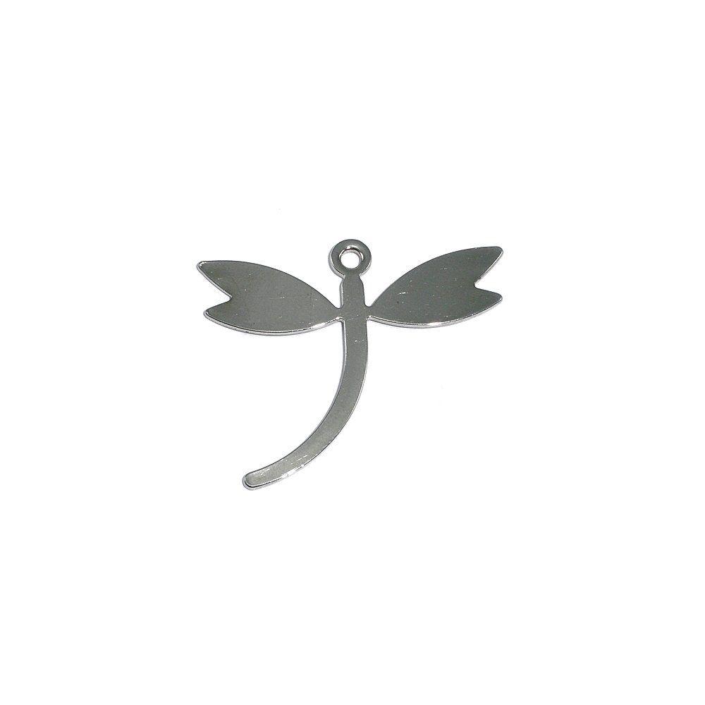 Pingente Libélula de Metal - 25mm  - Nathalia Bijoux®