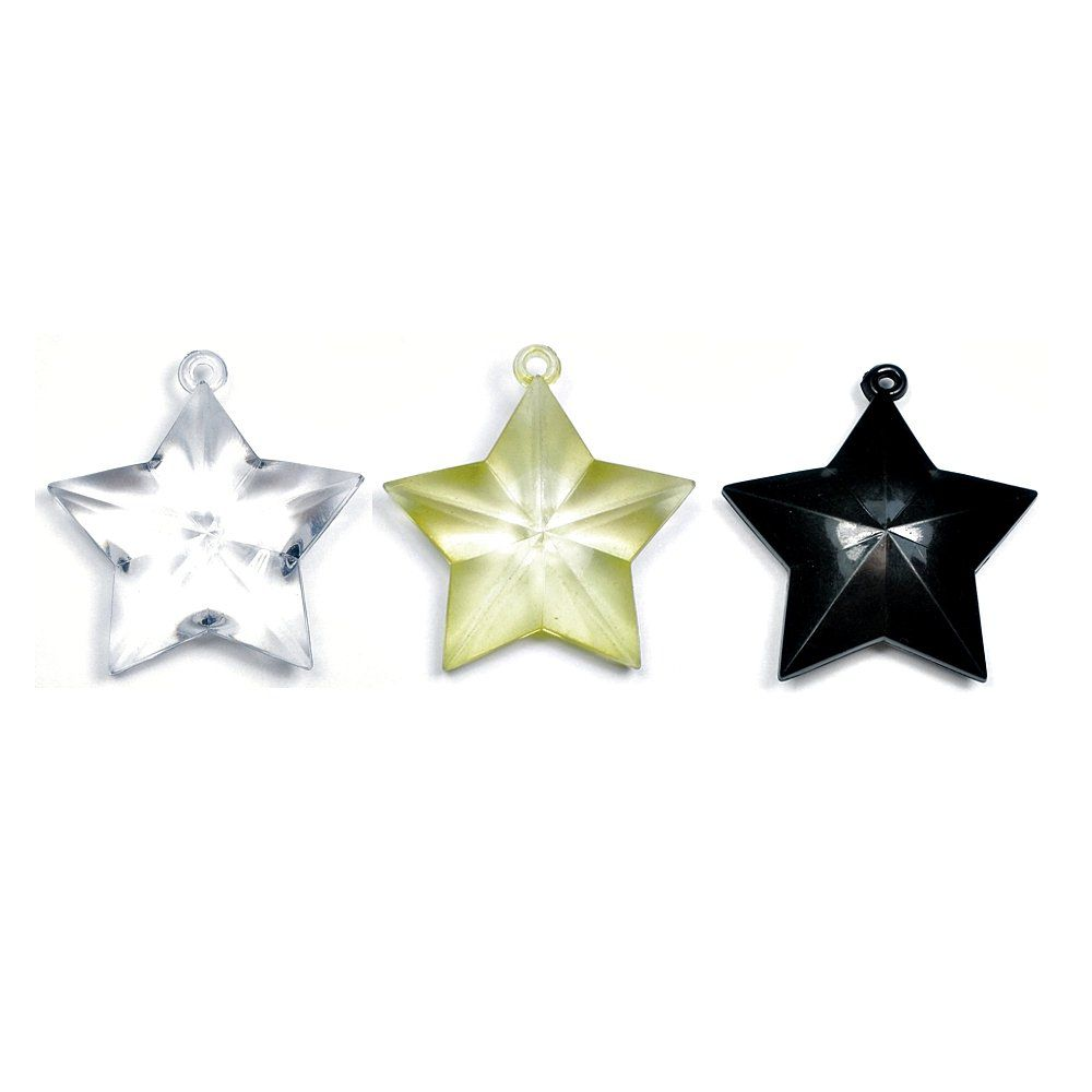 Pingente Estrela de Acrílico - 47mm  - Nathalia Bijoux®