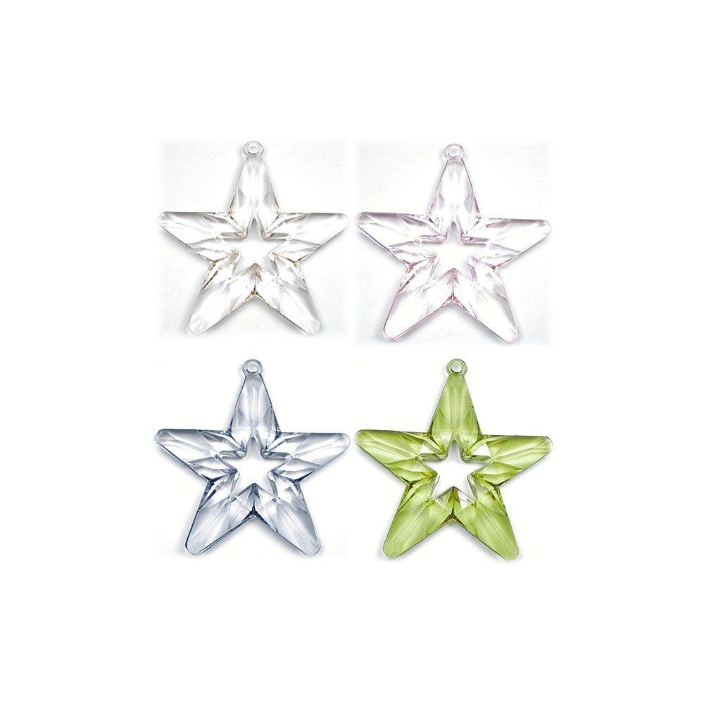 Pingente Estrela de Acrílico - 72mm  - Nathalia Bijoux®