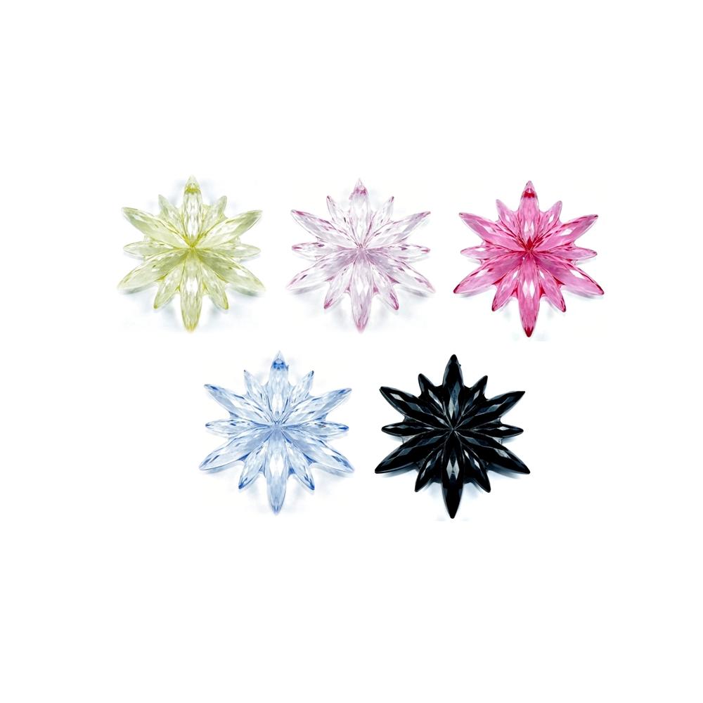 Pingente Estrela de Acrílico - 65mm  - Nathalia Bijoux®