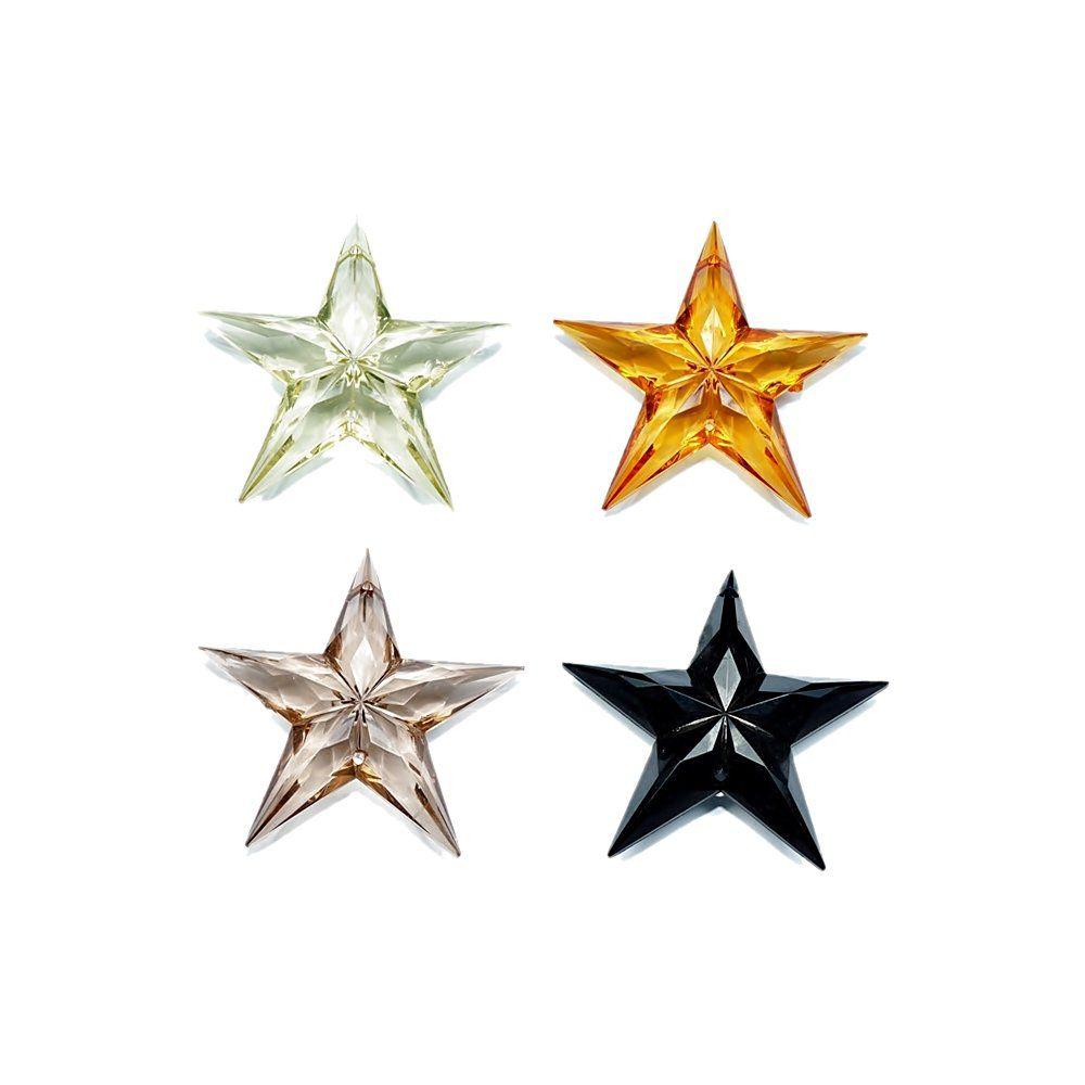 Pingente Estrela de Acrílico - 54mm  - Nathalia Bijoux®