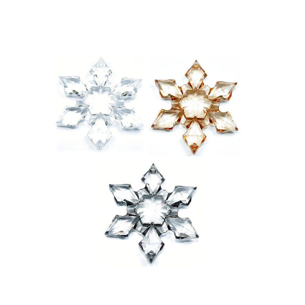 Pingente Estrela de Acrílico - 66mm  - Nathalia Bijoux®