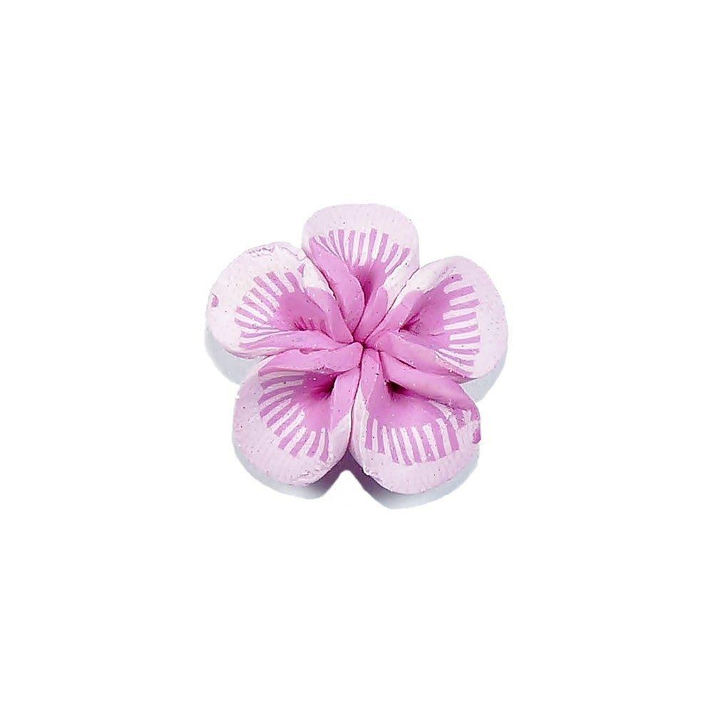 Aplique Flor de Fimo - 20mm  - Nathalia Bijoux®