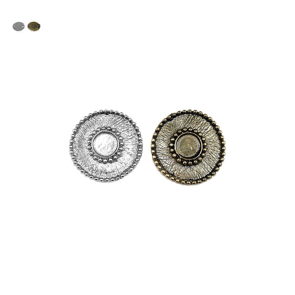 Pingente de Metal - 40mm  - Nathalia Bijoux®