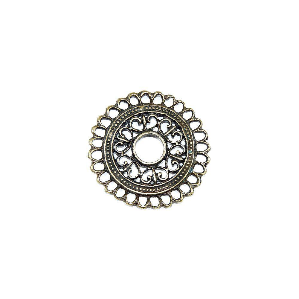 Pingente de Metal - 41mm  - Nathalia Bijoux®