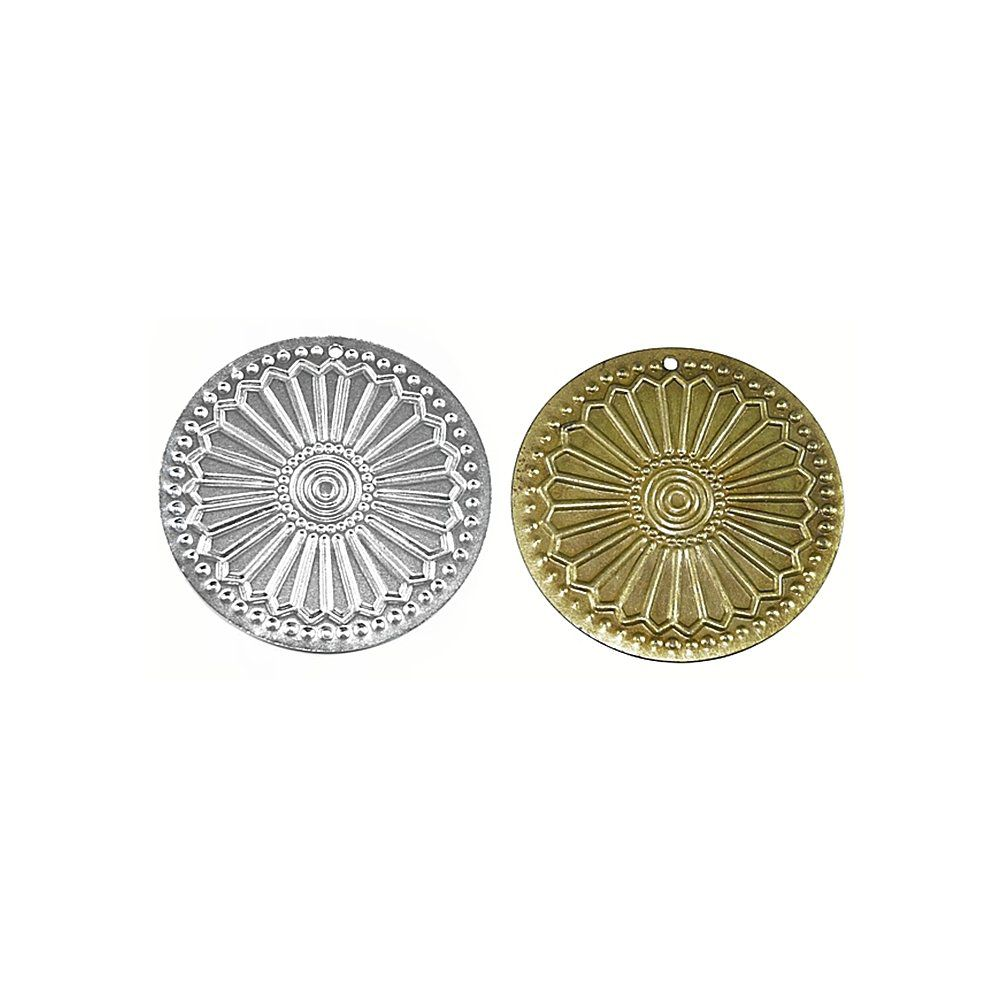Pingente de Metal - 57mm  - Nathalia Bijoux®