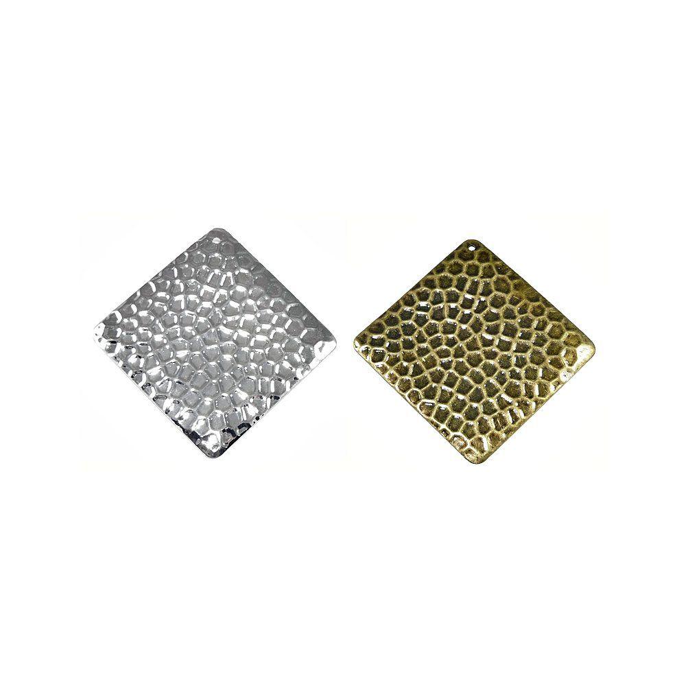 Pingente Balão de Metal - 68mm  - Nathalia Bijoux®