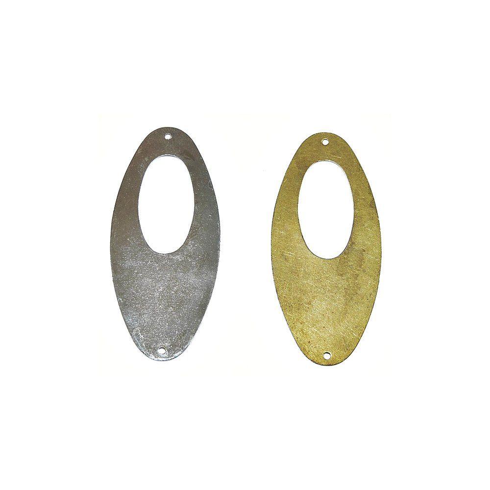 Alongador de Metal 2 Saídas - 59mm  - Nathalia Bijoux®