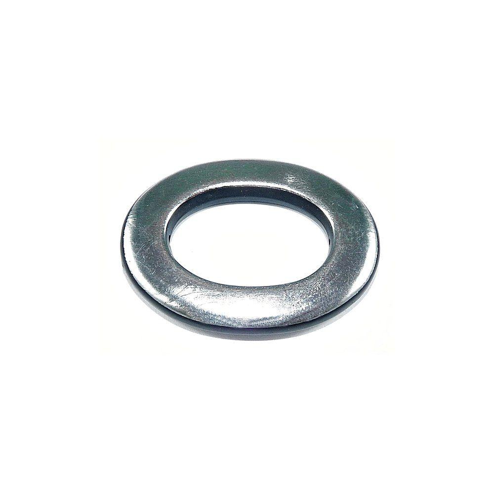 Entremeio Argola Oval de Plástico - 40mm  - Nathalia Bijoux®