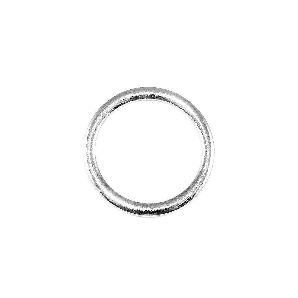 Argola de Metal - 36mm  - Nathalia Bijoux®