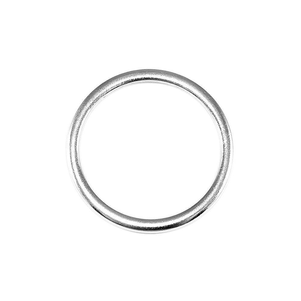 Argola de Metal - 45mm  - Nathalia Bijoux®