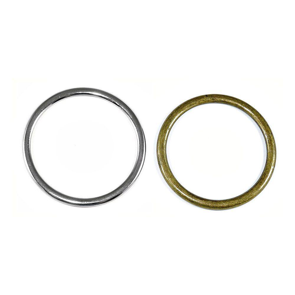 Argola de Metal - 58mm  - Nathalia Bijoux®
