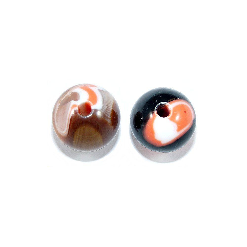 Entremeio Bolinha de Resina - 17mm  - Nathalia Bijoux®
