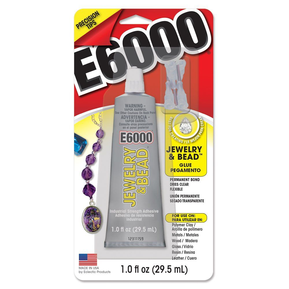 E6000® Jewelry & Bead - Eclectic Products - 29.5ml  - Nathalia Bijoux®