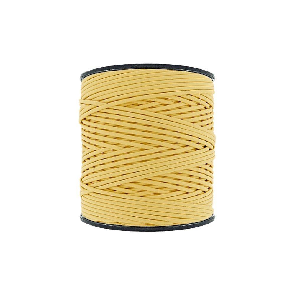 Cordão Encerado - Amarelo (011) - 2mm - 300m - Premium  - Nathalia Bijoux®
