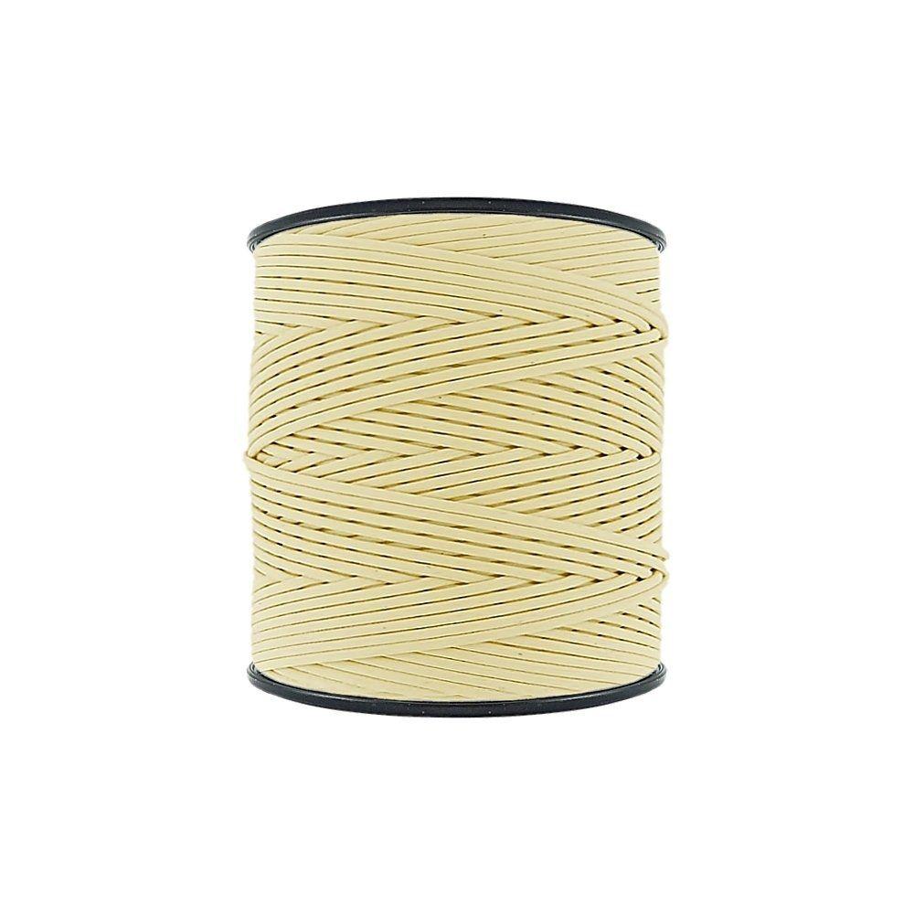 Cordão Encerado - Amarelo Bebê (401) - 2mm - 300m - Premium  - Nathalia Bijoux®