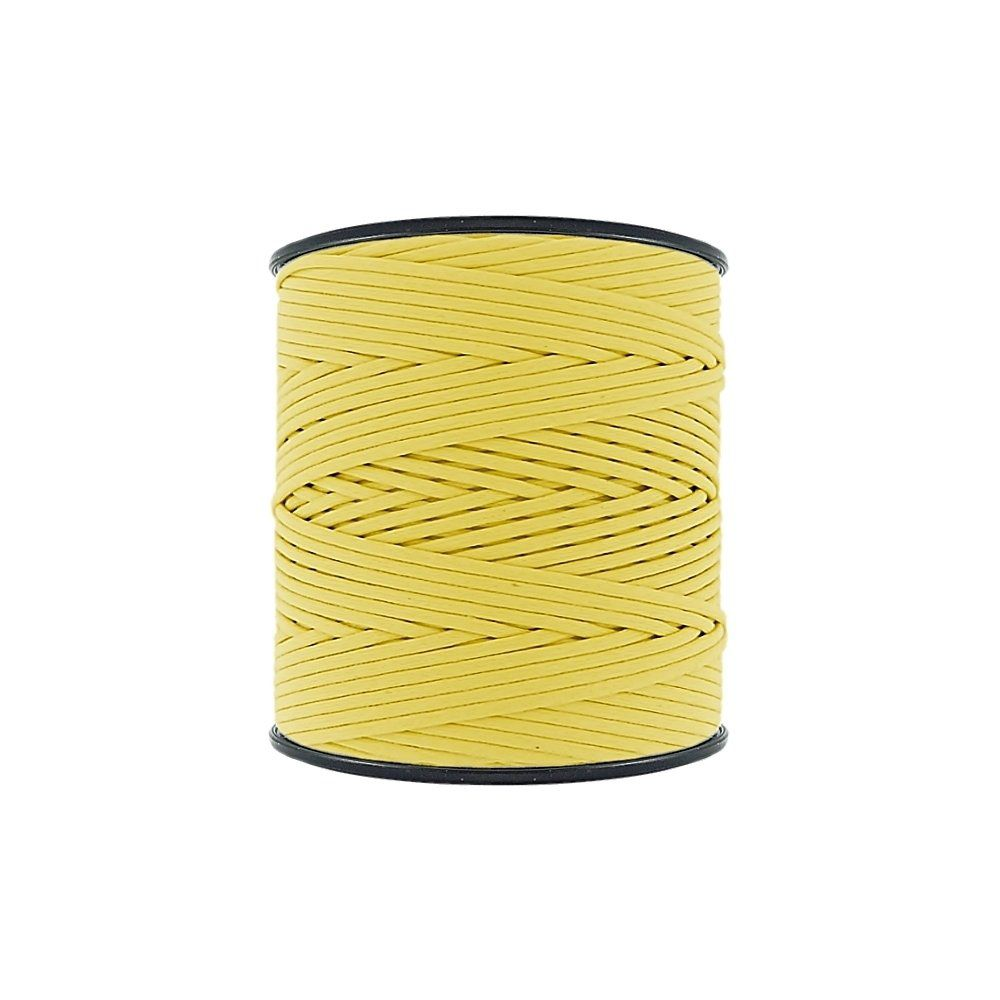 Cordão Encerado - Amarelo Cítrico (462) - 2mm - 300m - Premium  - Nathalia Bijoux®