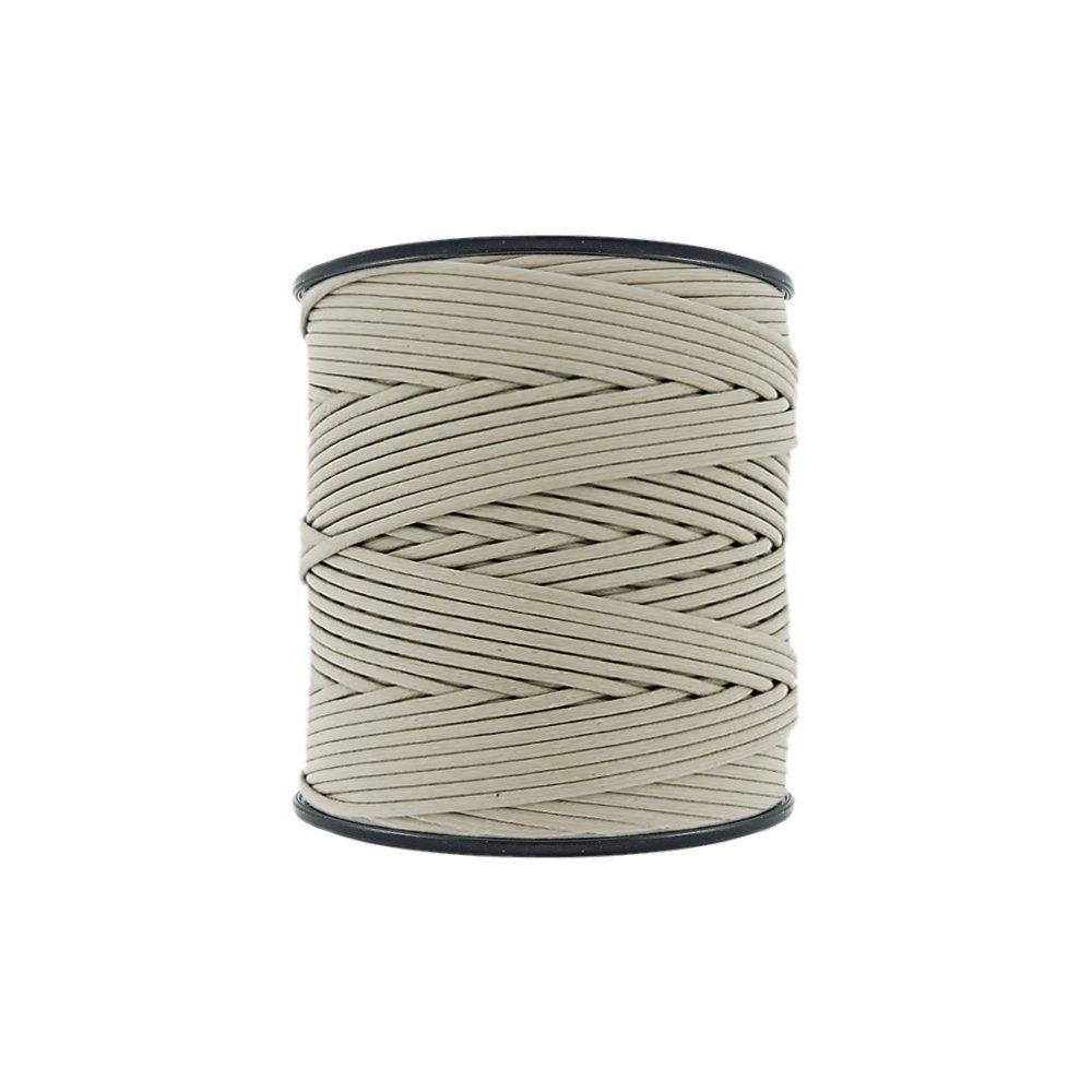 Cordão Encerado - Areia (434) - 2mm - 300m - Premium  - Nathalia Bijoux®