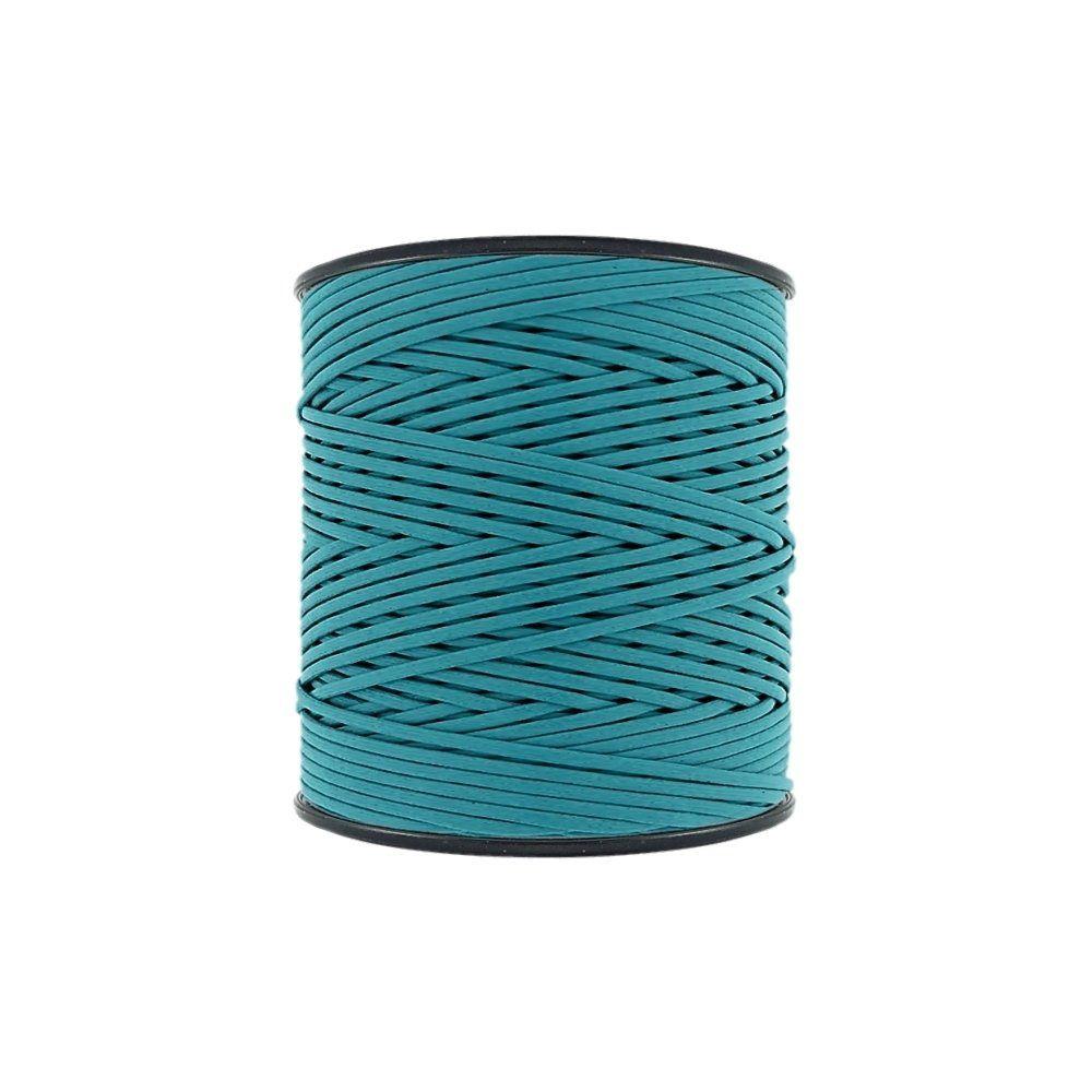 Cordão Encerado - Azul Piscina (414) - 2mm - 300m - Premium  - Nathalia Bijoux®