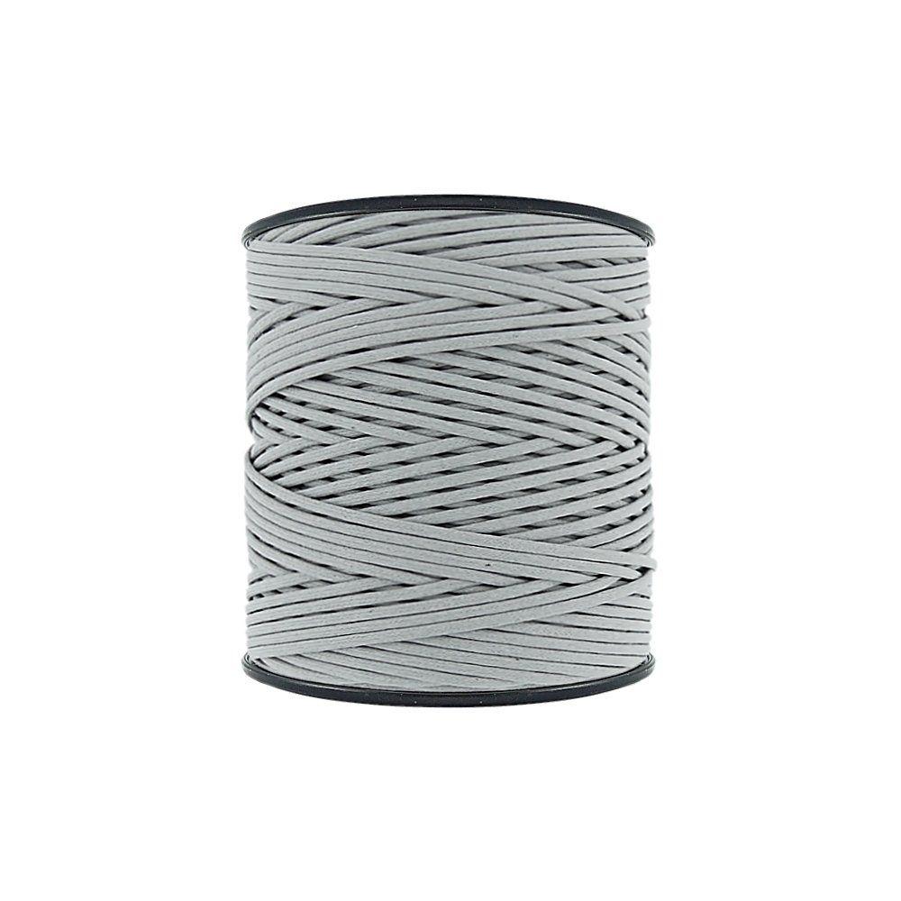 Cordão Encerado - Cinza (439) - 2mm - 300m - Premium  - Nathalia Bijoux®