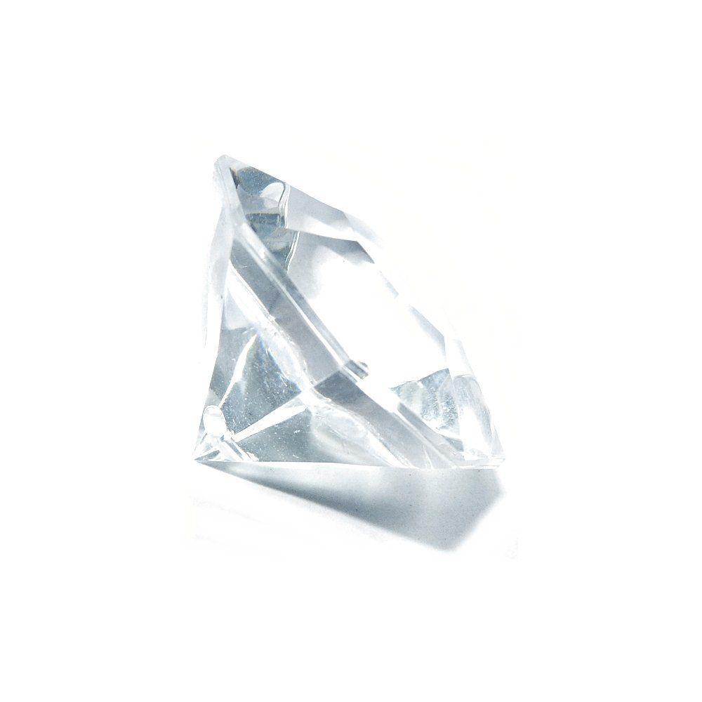 Pingente Diamante de Acrílico - 24mm  - Nathalia Bijoux®