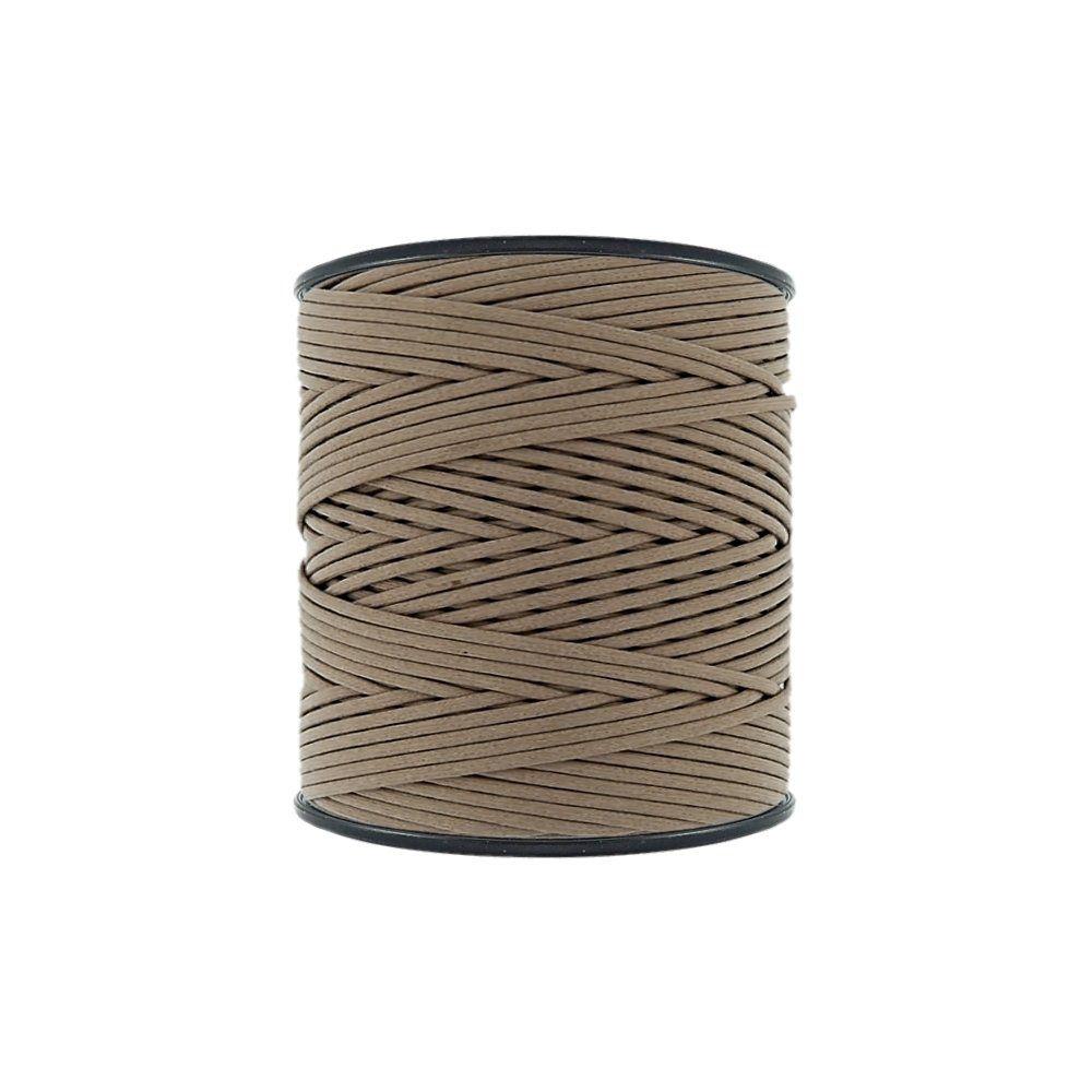 Cordão Encerado - Kaki Caribe (059) - 2mm - 300m - Premium  - Nathalia Bijoux®