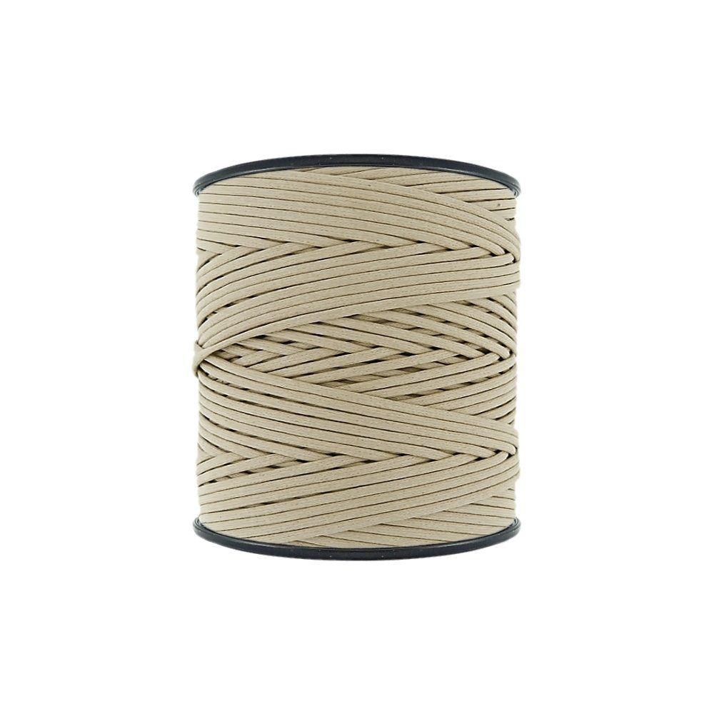 Cordão Encerado - Marfim (142) - 2mm - 300m - Premium  - Nathalia Bijoux®