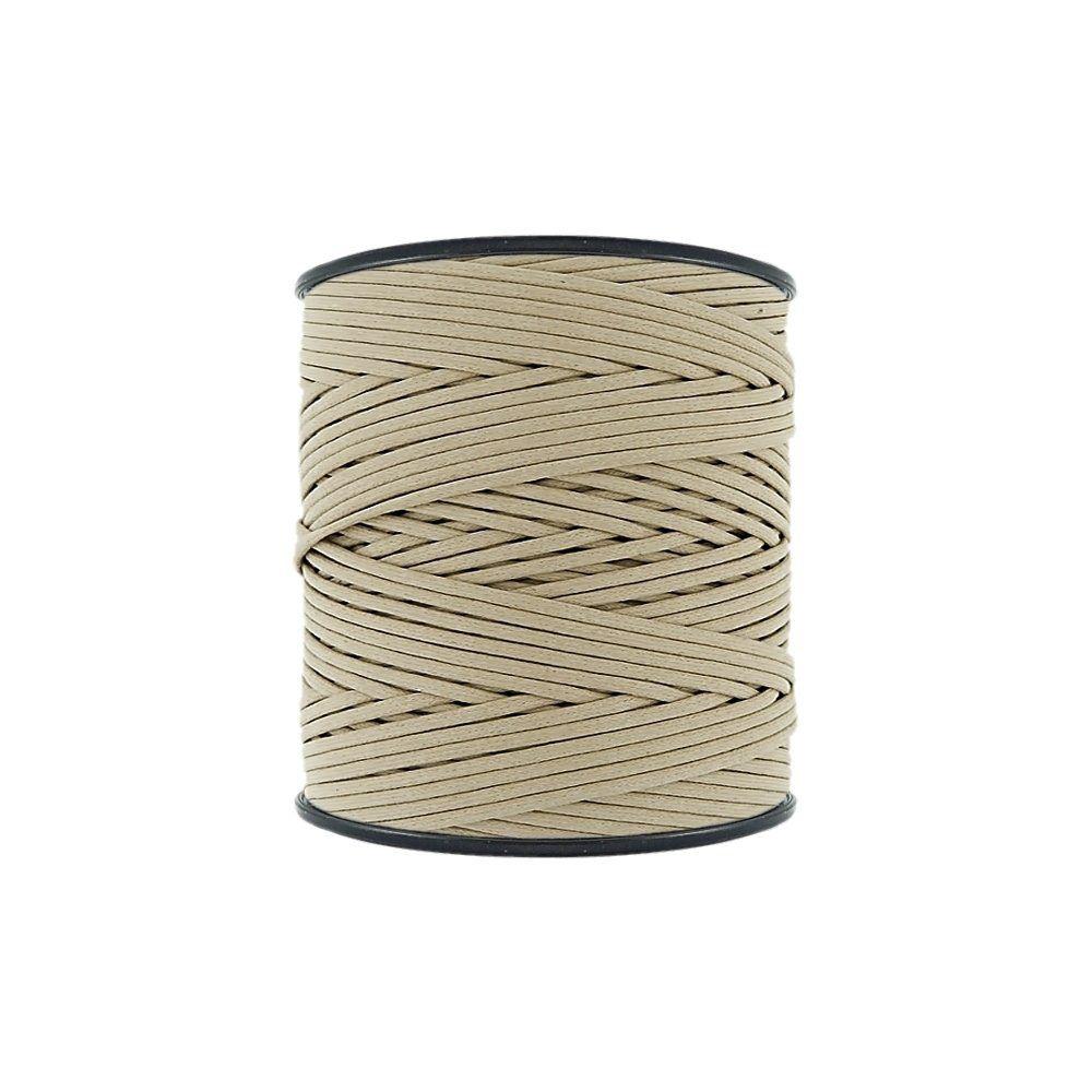 Cordão Encerado - Marfim (338) - 2mm - 300m - Premium  - Nathalia Bijoux®