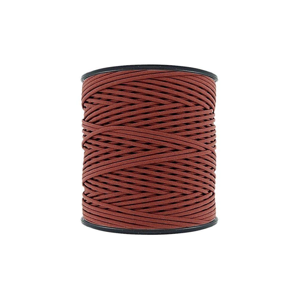 Cordão Encerado - Terra Cota (329) - 2mm - 300m - Premium  - Nathalia Bijoux®