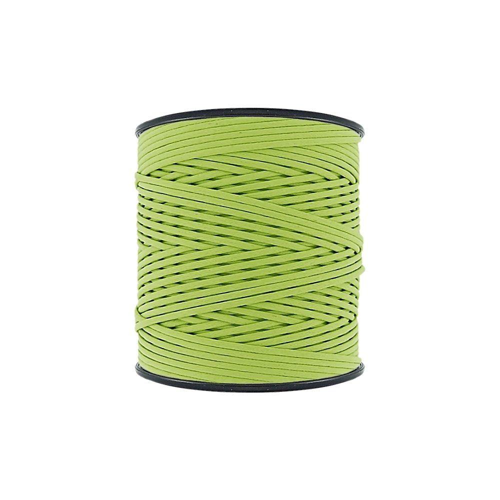 Cordão Encerado - Verde Cítrico (459) - 2mm - 300m - Premium  - Nathalia Bijoux®