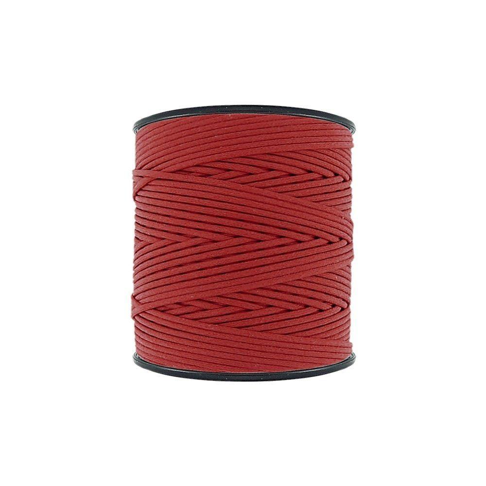 Cordão Encerado - Vermelho (005) - 2mm - 300m - Premium  - Nathalia Bijoux®